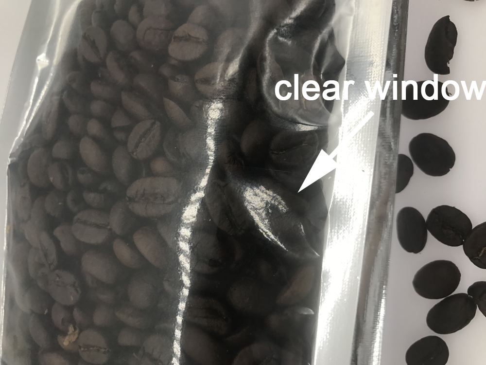Wholesale aluminum foil plastic bags for coffee