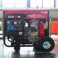 BISON China Easy Start 10KW Дизельный генератор Super Silent с электрическим стартером Батарея 30ah