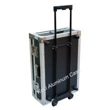 Caso de aluminio de la herramienta de maquillaje / Built-in Rod / Flight Case