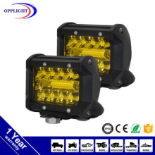 Offroad UTV ATV SUV Car Accessories Yellow Lens Fog Lights 36W LED Driving Light 4inch LED Work Light