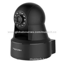 2014 H.264 megapixel P2P wireless CCTV CMOS camera with 8 meters night vision
