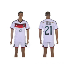 2014 World Cup Germany Home White Soccer Jersey