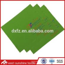 Логотип Silk Screen Печатная чистящая ткань для микрофибры