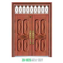 Puerta de entrada comercial puerta metálica entrada metal comercial para América del norte