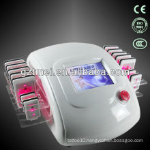 2014 Effect lipo laser body slimming machine with lipo lovely laser light