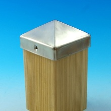 Stainless Steel Pyramid Post Cap