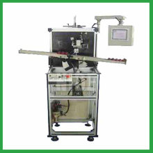 Armature paper insulating machine