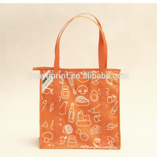 Non-woven Tote cooler bag, Environmentally friendly fashion cooler lunch bag, wholesale specials