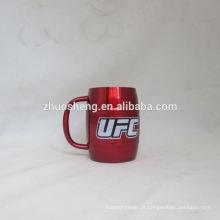 tampas e copos de suco descartável de alta qualidade da impressão logotipo personalizado