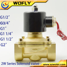 220v/24v solenoid valve for water purifier 1/8''~4'' G/NPT thread medium pressure normal temperature