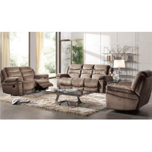 Sofá reclinable eléctrico USA L & P Mechanism Sofa Down Sofa (898 #)