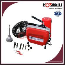 Limpiador de desagüe eléctrico / limpiador de desagüe con resorte D150 aprobado por el CE