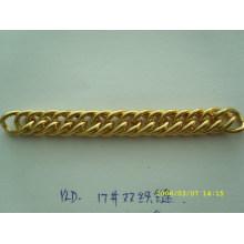 Cadena decorativa del metal del accesorio del bolso de la alta calidad de la manera