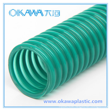 "Size 2-1/2"" PVC Corrugated Suction Hose"