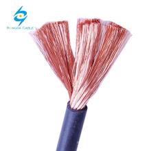 cabo de solda super flexível 2/0 cabo de soldagem DC cabo da máquina de solda