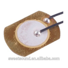 dongguan factory piezo ceramic 15mm 4.0khz low power piezoelectric element