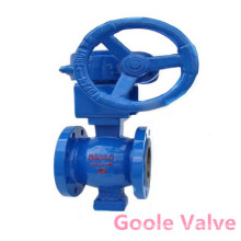Gear Operated Flanged V-Port Ball Valve (GVQ347H)