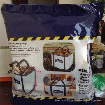 Super Sack Bag pour déchets de construction, pelouse, jardin, etc.