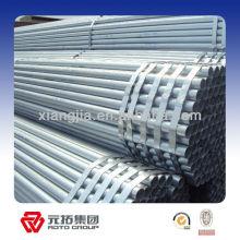 Construction chaude plongé bonne qualité Q195-Q235 galvanisé tuyau en acier