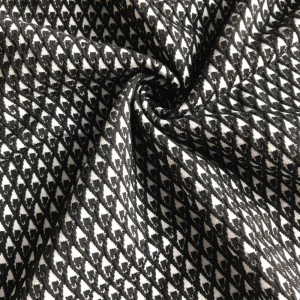 Swallow gird Jacquard fabric yarn dyed fancy fabric