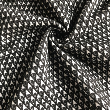 Goods high definition for for Polyester Lining Swallow gird Jacquard fabric yarn dyed fancy fabric supply to Burkina Faso Supplier