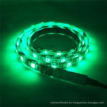 Luz de tira al aire libre impermeable del LED 12V SMD 5050 RGBW al aire libre