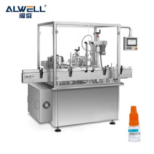 Shanghai manufacture direct sale eyedrop filling stoppering capping machine mini bottle filling machine with CE approved
