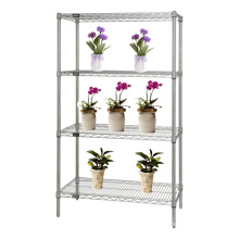 Chrome Adjustable Greenhouse Wire Racking for Flower (CJ7535180A4C)