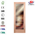 JHK-G01 Romania Factory Huaxing Time Interior Glass Door