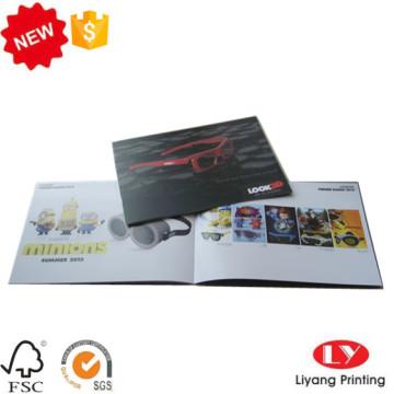 Catálogo de produtos de boa qualidade Impressão de brochura