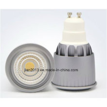 GU10 7W 85-265V White COB LED Spotlight