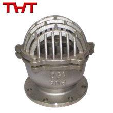 L'usine fournissent directement la valve de pied de prix d'urgence d'acier inoxydable
