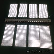 Cortável, leve, fácil de manipular flexível folha de luz LED