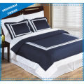 Hotel Collection White Hem 600tc Cotton Duvet Cover Set