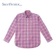 Preppy Tops Блузка в красочную клетку, длинные рубашки для мальчиков