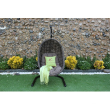 Resistant All Weather Garden Wicker Furniture Swing Chair Poly Rattan Hammock