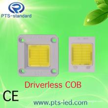 110V 220V 50W sin conductor AC COB LED módulo de potencia con intensidad regulable y no regulable