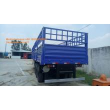 Pagar kargo biru Van semi trailer dengan 3axles