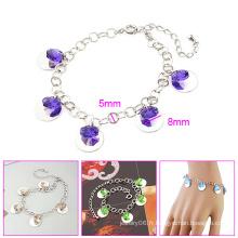 Bijoux Fashion Xuping avec bracelet en pierres précieuses