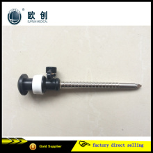 China Manufacture Euprun Reusable Screw Cannular Trocar