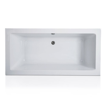Melody Centre Drain Soaking Tub di White