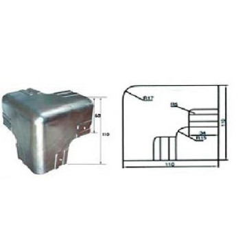 Steel&Stainless steell corner protector for truck and trailer