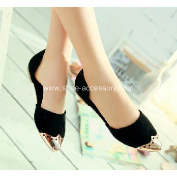 Shoe Accessories, TPU Electroplate Toe Caps for Women Shoes