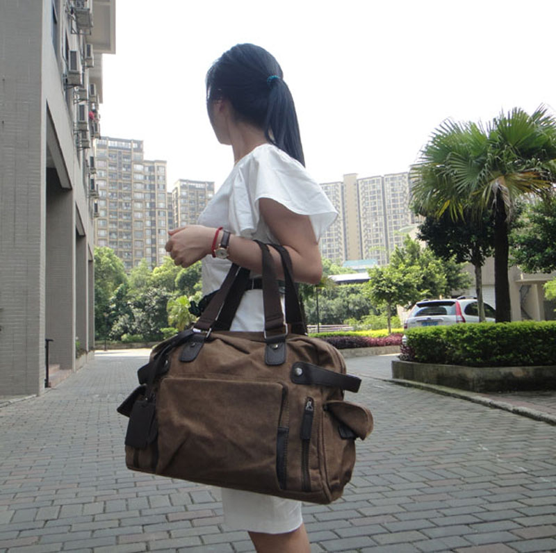 Portable Travelling Handbag Across the Shoulder