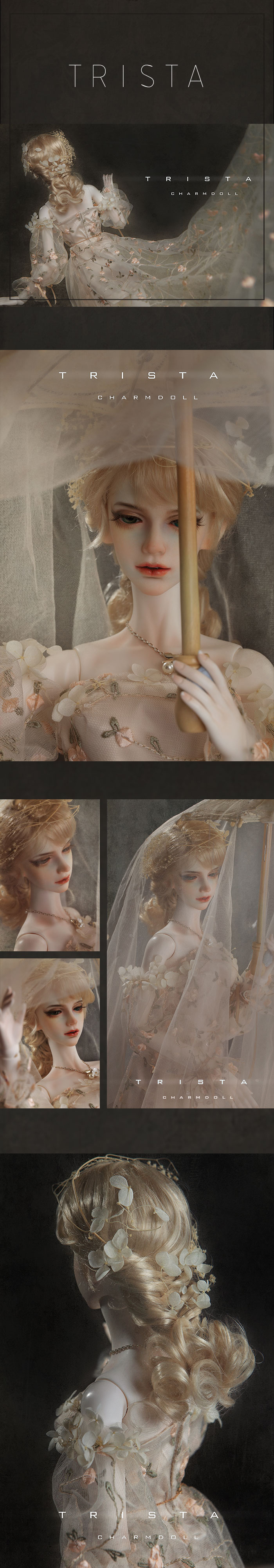 BJD Trista Timeless Love Jointed Doll