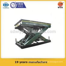 High quality stable capacity hydraulic cylinder scissor elevator