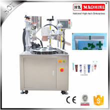 Plastic Tube Filling And Sealing Machine For Cream Lotion Filling