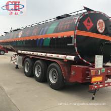Semi-remorque de bitume de réservoir d'asphalte de 36000 litres