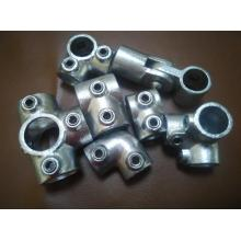 Hot galvanized malleable cast iron key clamp fitting