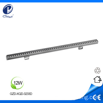Color cambiante RGBW 9W exterior lavado de pared led